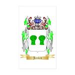 Jankin Sticker (Rectangle 50 pk)