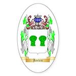 Jankin Sticker (Oval 10 pk)