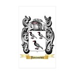 Janjusevic Sticker (Rectangle 50 pk)