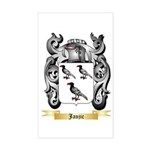 Janjic Sticker (Rectangle)