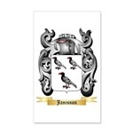 Janisson 20x12 Wall Decal