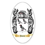 Janin Sticker (Oval 10 pk)