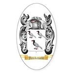 Janikowski Sticker (Oval 10 pk)