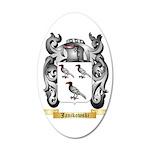 Janikowski 35x21 Oval Wall Decal