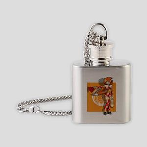 Tomei Kitsune Princess Flask Necklace