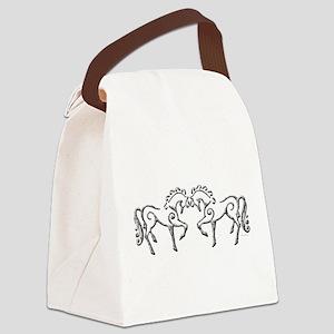 Celtic Horses Canvas Lunch Bag