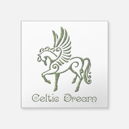 "Celtic Dream Square Sticker 3"" x 3"""