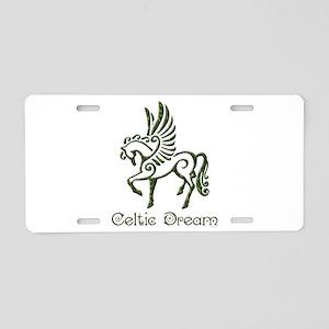 Celtic Dream Aluminum License Plate