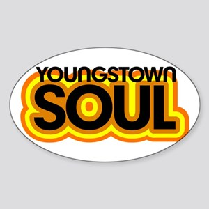 Youngstown Soul Oval Sticker