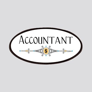 Accountant Decorative Line Patches