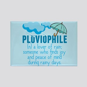 Pluviophile Rectangle Magnet