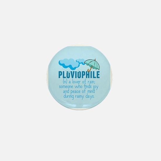 Pluviophile Mini Button