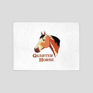 Quarter Horse 5'x7'Area Rug