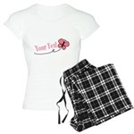 Personalizable Pink Butterfly Pajamas