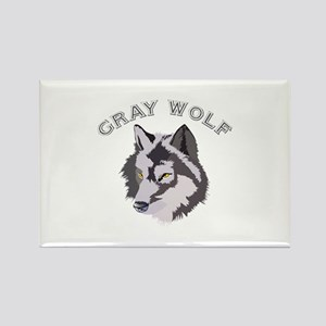 Gray Wolf Magnets