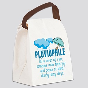 Pluviophile Canvas Lunch Bag