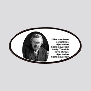 Chesterton Inequality Patches