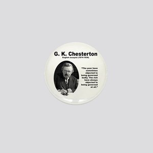 Chesterton Inequality Mini Button