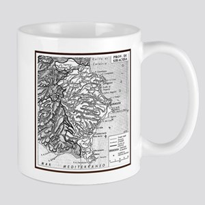 Province of Siracusa Mugs