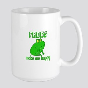 Frogs Make Me Happy Mugs
