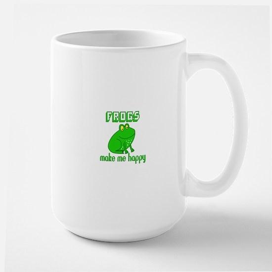 Frogs Make Me Happy Mugs