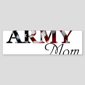 Mom Army_flag Bumper Sticker