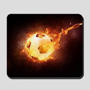 Fire Ball Mousepad