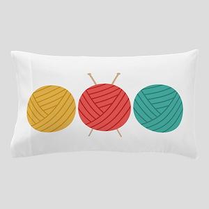 Yarn Balls Knitting Pillow Case
