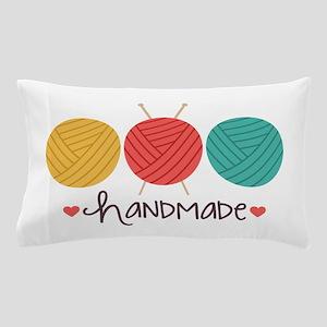 Handmade Knitting Pillow Case