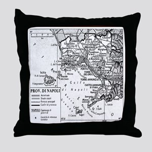 Province of Naples Throw Pillow
