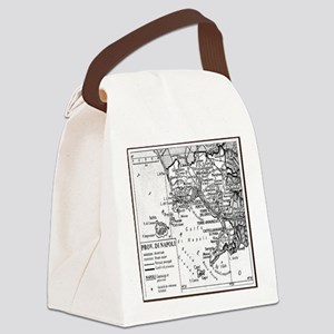 Province of Naples Canvas Lunch Bag