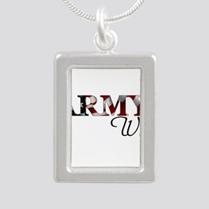 Wife Army_flag Necklaces
