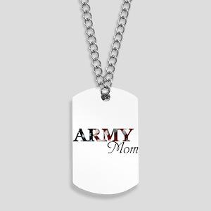 Mom Army_flag  Dog Tags