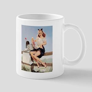 Vintage Pin-Up Mug