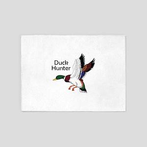Duck Hunter 5'x7'Area Rug