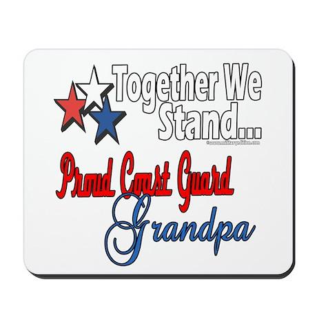 Coast Guard Grandpa Mousepad