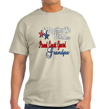 Coast Guard Grandpa Light T-Shirt