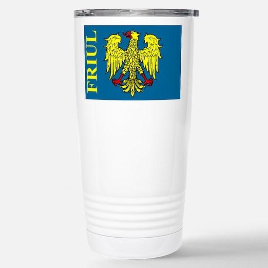 Flag of Friul Travel Mug