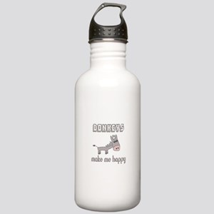 Donkeys Make Me Happy Stainless Water Bottle 1.0L