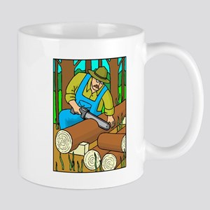 Lumberjack Mugs