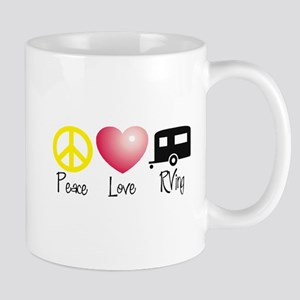 Peace, Love, RVing Mugs