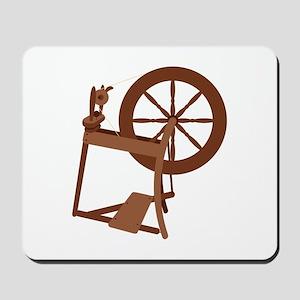 Yarn Spinning Wheel Mousepad