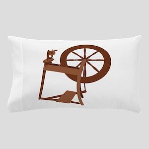 Yarn Spinning Wheel Pillow Case