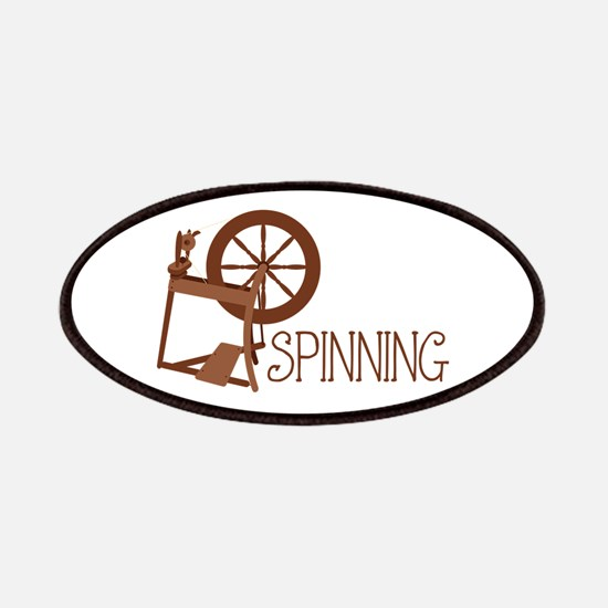 Spinning Wheel Patches