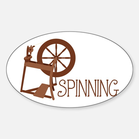 Spinning Wheel Decal