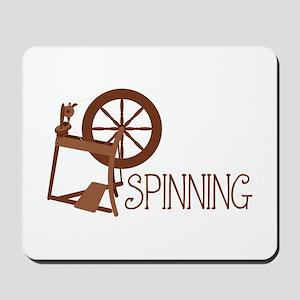 Spinning Wheel Mousepad