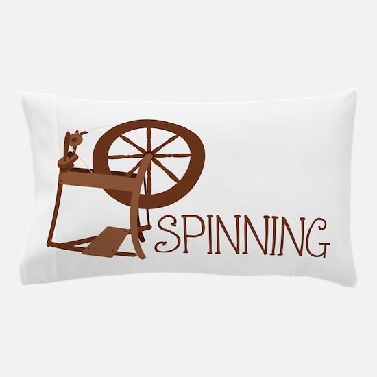 Spinning Wheel Pillow Case