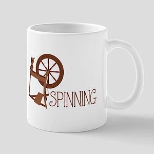 Spinning Wheel Mugs