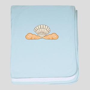 Sea Shells baby blanket