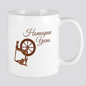 Homespun Yarns Mugs